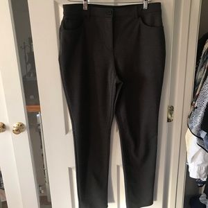 So Slimming by Chico's gray pants